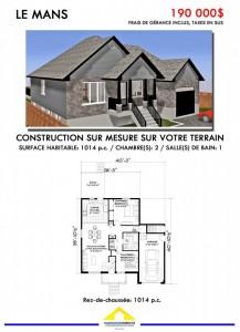 Affiche Le mans habitation directe