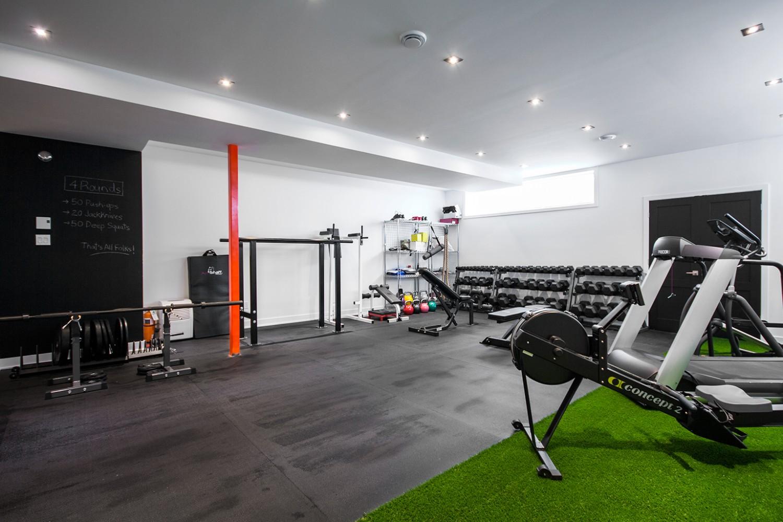 Sous-sol - Gym