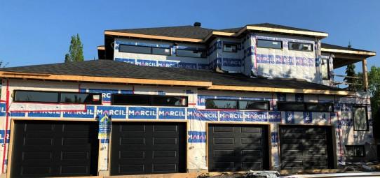 Construction en cours à Candiac